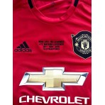 ADIDAS MANCHESTER UNITED FC 2019-20 Home + 99 Legends Match Embroidery Jersey