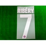 Official RIBERY #7 FC Bayern Munich HOME 2019-20 PU PRINT
