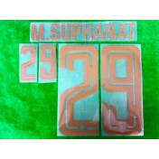 Official PLAYER ISSUE M.SUPHANAT #29 Thailand KING'S CUP 2019 PRINT