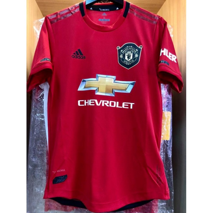uk availability fa805 d3b33 CLIMACHILL ADIDAS Manchester United FC HOME 2019-20 ...