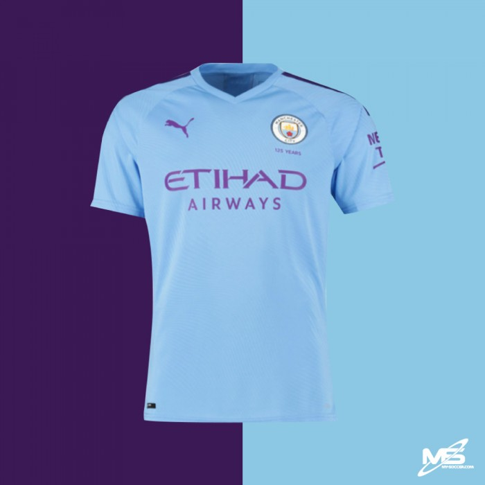 buy popular a87c9 66afd AUTHENTIC PUMA Manchester City FC Home 2019-20 PLAYER Jersey
