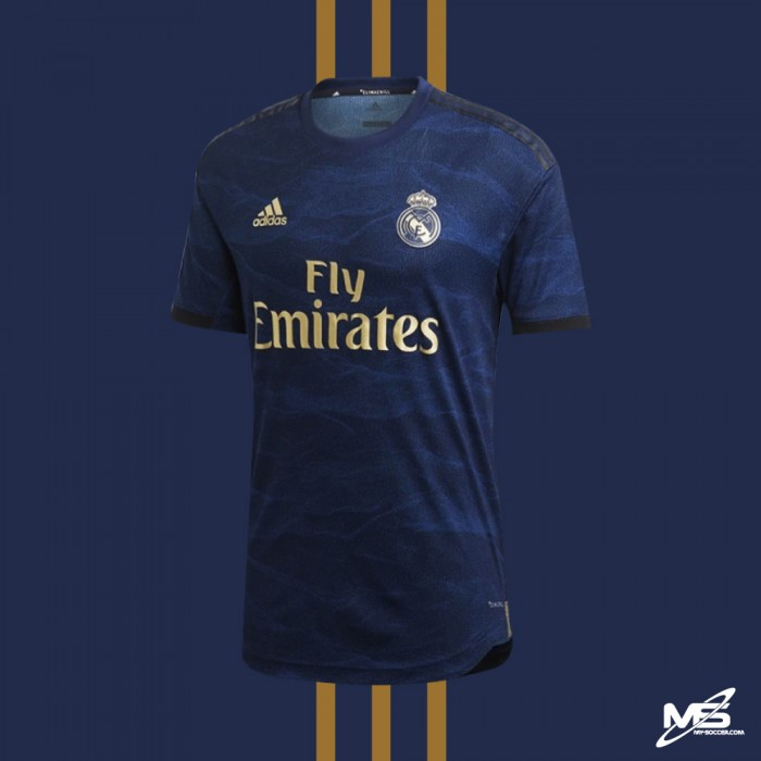 buy popular ae88a cec62 CLIMACHILL ADIDAS Real Madrid CF Away 2019-20 AUTHENTIC Jersey