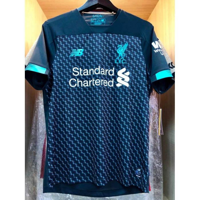 official photos cec8e 7ce08 NEW BALANCE Liverpool FC 3rd 2019-2020 STADIUM Jersey