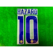 OFFICIAL HAZARD #10 Chelsea Away EUROPA LEAGUE CUP 2018-19 PRINT