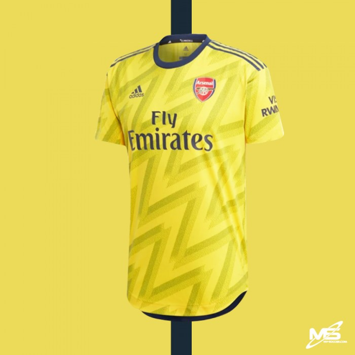 detailed look 5aeaf 2a17f CLIMACHILL ADIDAS Arsenal FC Away 2019-20 Authentic Jersey