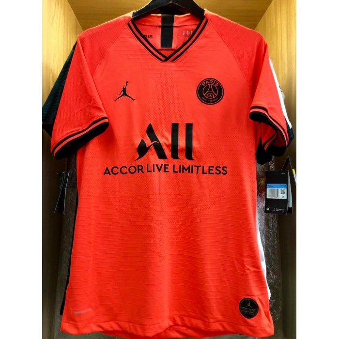 great fit bff32 de2e7 VAPORKNIT JORDAN X PARIS SAINT GERMAIN PSG Away 2019-20 ...