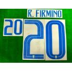 Official R.FIRMINO #20 Brazil 3rd COPA AMERICA 2019 PRINT