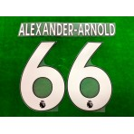 Official ALEXANDER-ARNOLD #66 Liverpool Home PLAYER SIZE 2019-20 EPL PRINT