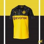 PUMA Borussia Dortmund International UCL 2019-20 Stadium Jersey