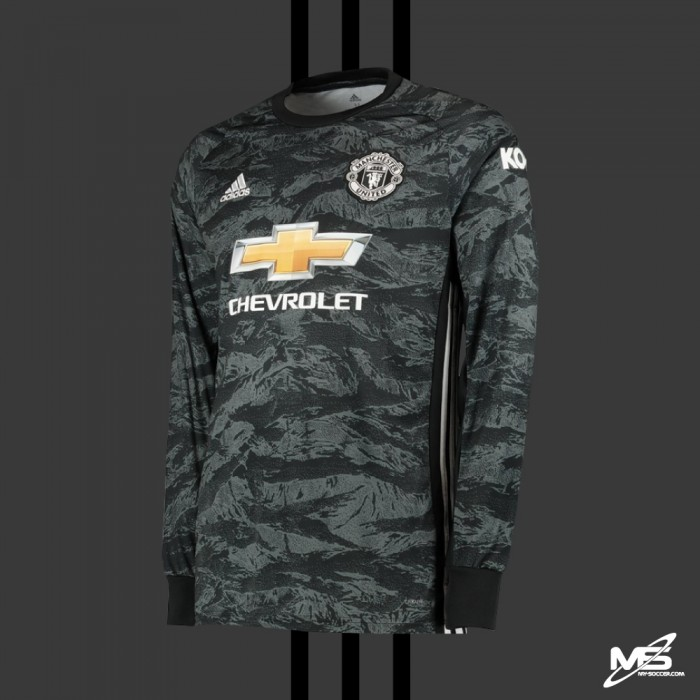 best website 62ef7 41e56 ADIDAS Manchester United FC Away Goalkeeper GK 2019-20 Jersey