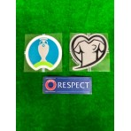 Official PLAYER ISSUE UEFA EUROPEAN CHAMPIONSHIP 2020 QUALIFYING Patches