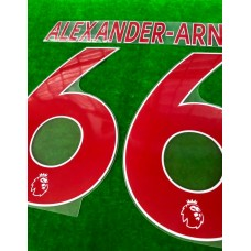 Official ALEXANDER-ARNOLD #66 Liverpool Away PLAYER SIZE 2019-20 EPL PRINT