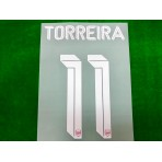 Official TORREIRA #11 Arsenal FC Home CUP 2019-20 PRINT