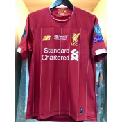 ELITE PLAYER UEFA SUPER CUP 2019 Liverpool FC Home + EMBROIDERY + PATCHES Jersey