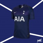 NIKE Tottenham Hotspur FC Away 2019-20 Stadium Jersey