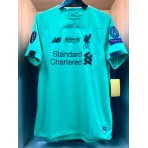 UEFA SUPER CUP 2019 Liverpool FC Away GK STADIUM + EMBROIDERY + PATCHES Jersey