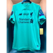 UEFA SUPER CUP 2019 Liverpool FC Home GK STADIUM + EMBROIDERY + PATCHES Jersey