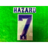 Official HAZARD #7 Real Madrid CF 3rd 2019-20 PRINT