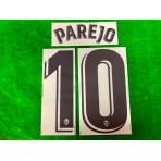 Official PAREJO #10 Valencia CF Home 2019-2020 PRINT