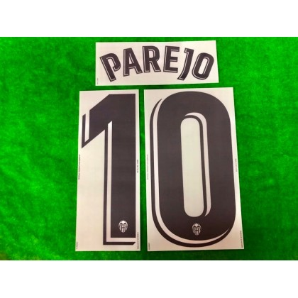 Official PAREJO #10 Valencia CF Home 2019-2020 PRINT