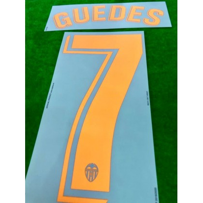 Official GUEDES #7 Valencia CF Away 2019-2020 PRINT