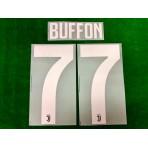 Official BUFFON #77 Juventus FC Home 2019-2020 PRINT