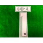 PLAYER ISSUE Official DE GEA #1 Manchester United FC AWAY GK CUP 2019-20 PRINT