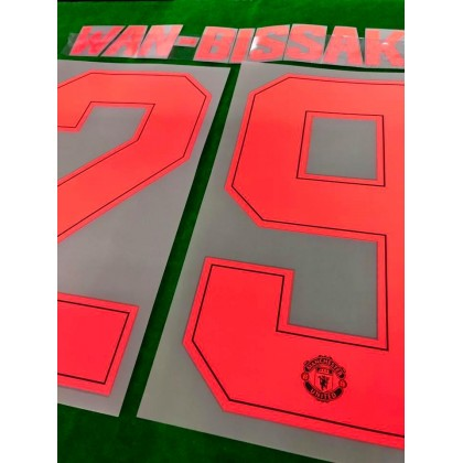 Official PLAYER ISSUE MUFC 3rd CUP 2019-2020 CUSTOMIZED PRINT