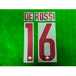 Official DE ROSSI #16 AS ROMA 3rd 2018-19 PRINT
