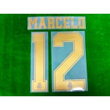 Official MARCELO #12 Real Madrid CF Home Away 2019-20 PRINT