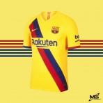VAPORKNIT NIKE FC Barcelona Away 2019-20 AUTHENTIC Jersey