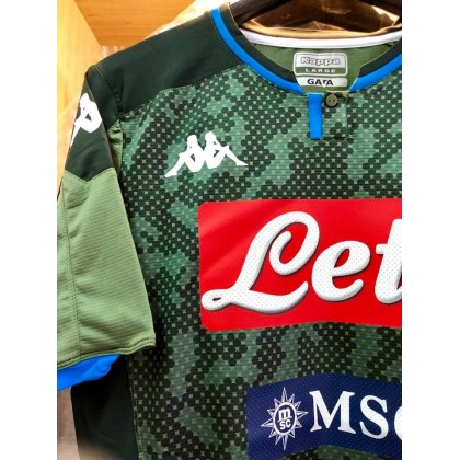 KAPPA S.S.C NAPOLI Away 2019-20 PLAYER ISSUE Jersey