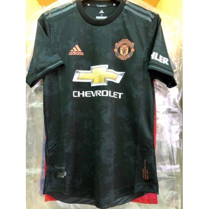 CLIMACHILL ADIDAS Manchester United FC 3rd 2019-20 AUTHENTIC Jersey