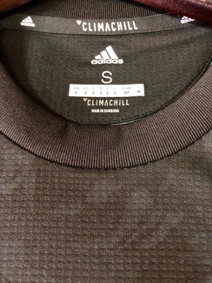 Climachill Adidas Manchester United Fc 3rd 2019 20 Authentic Jersey