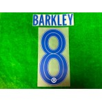 OFFICIAL BARKLEY #8 Chelsea Away CUP UCL 2019-20 PRINT