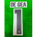 PLAYER ISSUE Official DE GEA #1 Manchester United FC 3rd GK CUP 2019-20 PRINT