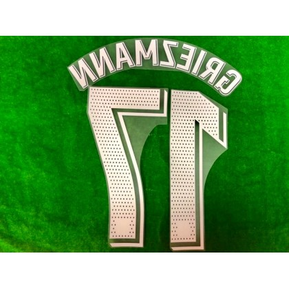 OFFICIAL PLAYER ISSUE GRIEZMANN #17 FC Barcelona Away 2019-20 PRINT