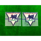Official English Premier League Champions 1993-94 GOLD Player Size Patches