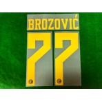 Official BROZOVIC #77 Inter Milan 3rd 2019-2020 PRINT