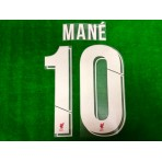 Official MANE' #10 Liverpool FC Home CUP UCL 2019-20 PRINT