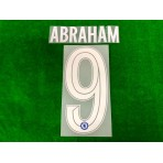 OFFICIAL ABRAHAM #9 Chelsea Home CUP UCL 2019-20 PRINT