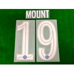 OFFICIAL MOUNT #19 Chelsea Home CUP UCL 2019-20 PRINT