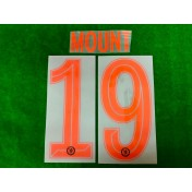 OFFICIAL MOUNT #19 Chelsea 3rd CUP UCL 2019-20 PRINT