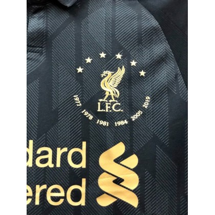 NEW BALANCE Liverpool FC 6 times collection BLACK GK 2018-19 Jersey