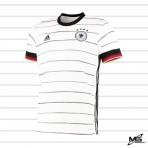ADIDAS Germany DFB Home EURO 2020 2020-21 Stadium Jersey