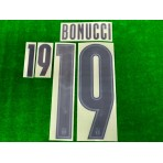 Official BONUCCI #19 Italy FIGC AWAY EURO 2020 2020-21 PRINT