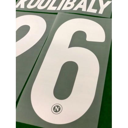 Official KOULIBALY #26 SSC NAPOLI Home 2019-20 PRINT