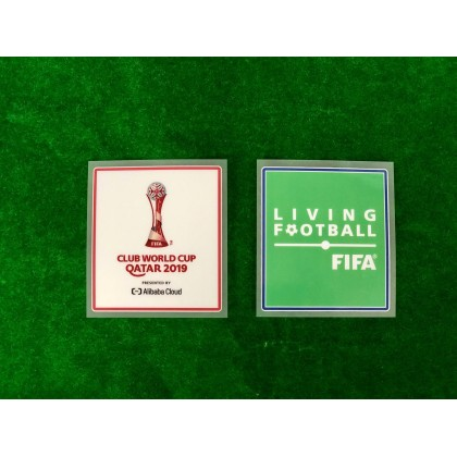 Official FIFA CLUB WORLD CUP QATAR 2019 + LIVING FOOTBALL Patches