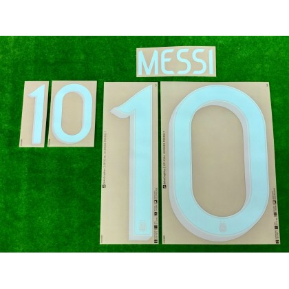 Official MESSI #10 Argentina Away 2019-2020 PRINT