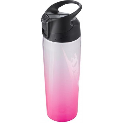 Nike TR Hypercharge Straw Graphic 710 ml (24 oz) Bottle Shaker white pink